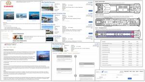 Demo website for cruises
